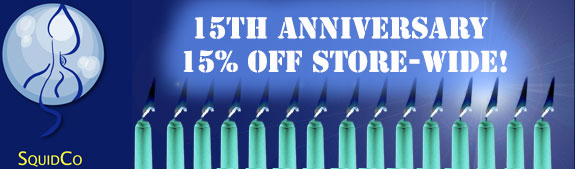 Squidco 15th Anniversay Sale