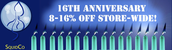 Squidco 16th Anniversay Sale