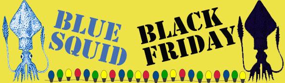 Squidco Blue Squid Black Friday Sale