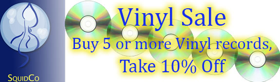 Buy 5 take 10% Vinyl Sale