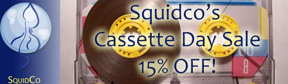 Squidco's Cassette Day Sale