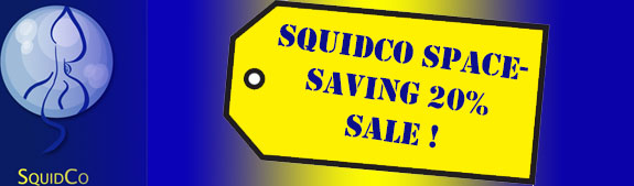 Squidco Space-Saving 20% Sale