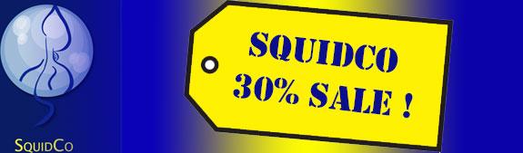 Squidco 30% Sale