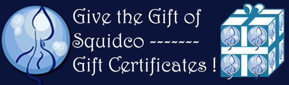 Squidco Gift Certificates