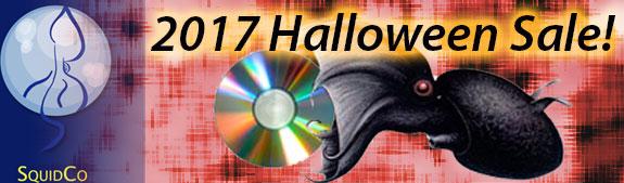Squidco Halloween Sale