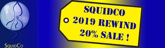Squidco 2017 20% Sale