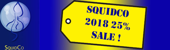 Squidco Year End 20% Sale