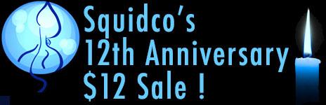 Squidco 2014 $12 Sale