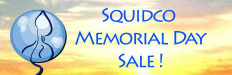 Squidco Memorial Day Sale
