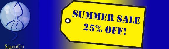 Squidco 25% Sale