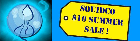 Squidco's $10 Sale
