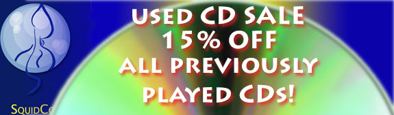 Squidco Used CD Sale