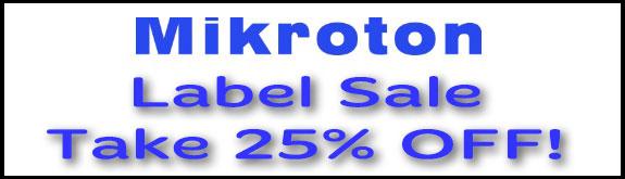 Mikroton 25% Sale